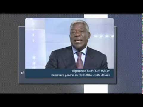 l'invite du jour alphonse djedje mady cote d ivoire news