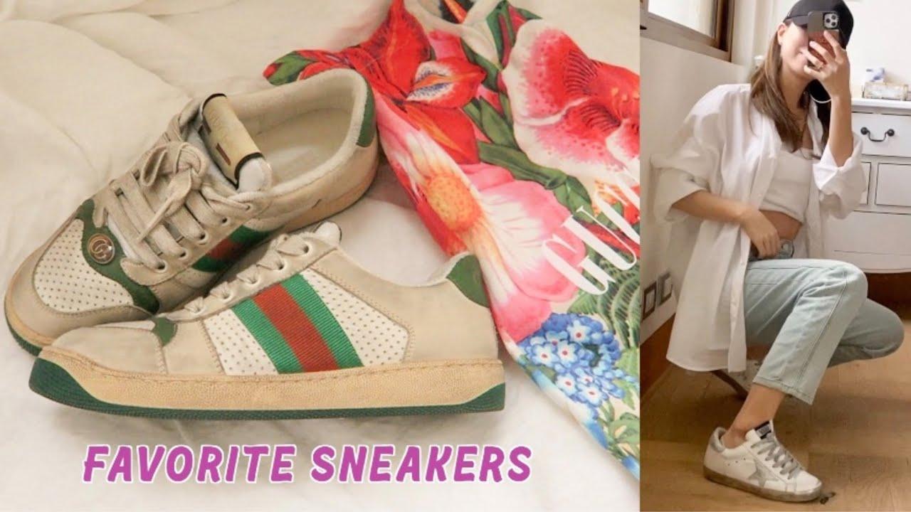 나의 최애 스니커즈 컬렉션(구찌스니커즈, 골든구스 실버텝, 렉켄스니커즈)/my favorite sneakers(GUCCI, GOLDEN GOOSE, REKKEN)
