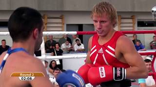 the light welterweight 64 kg bout arturs ahmetovs lat vs maxim akopov rus