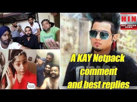 Punjabi Singer A Kay net pack comment and people reply