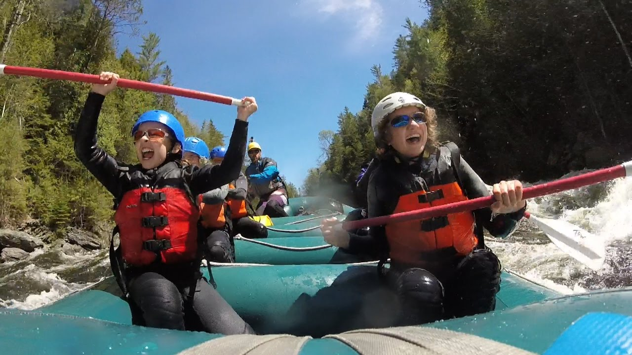 maine 39 s kennebec river rafting with three rivers 5 21 17 youtube