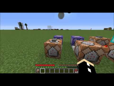 How To Use /testfor /weather And /clear Commands - Minecraft Tutorial