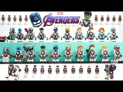 Avengers Endgame Unofficial Lego Minifigures PART 1