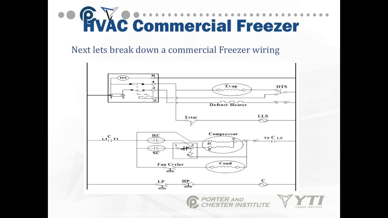 on walk in door commercial freezer wiring diagram