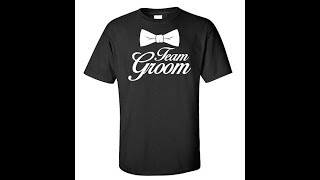 VictoryStore Team Groom T-Shirts - Wedding Design