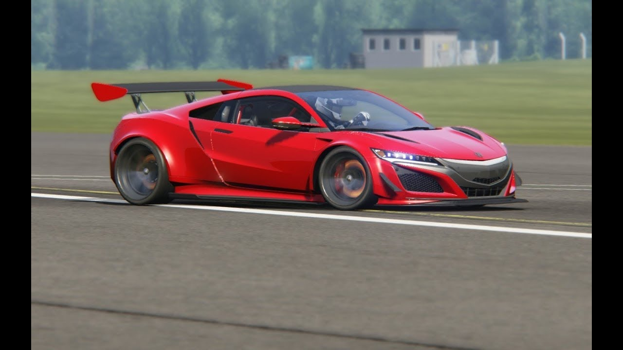 Acura Nsx Fe Bz 18 At Top Gear
