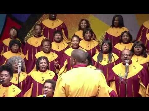 Jason White Directing The West Angeles COGIC Mass Choir 2012