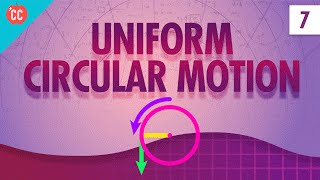 Uniform Circular Motion: Crash Course Physics #7