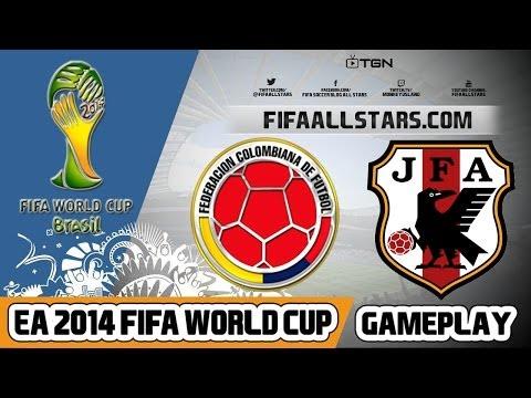 EA 2014 FIFA World Cup Japan Vs Colombia - FIFAALLSTARS.COM