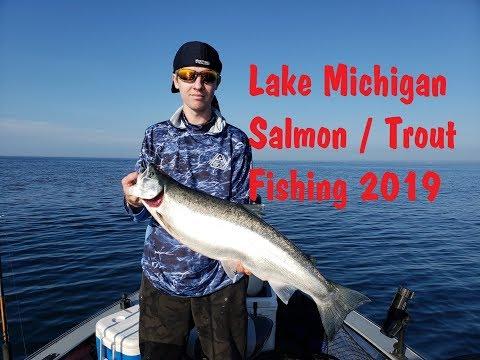 NFN Salmon Fishing Adventure # 2 For 2019 Two Rivers Wi. Lake Michigan