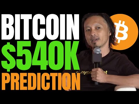 THIS METRIC SHOWS BITCOIN TARGETING $540K SAYS CRYPTO TRADER WHO PREDICTED 2019's BTC MELTDOWN!!