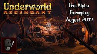 Underworld Ascendant Gameplay | August 2017 Pre-Alpha - Challenge of Ishtass