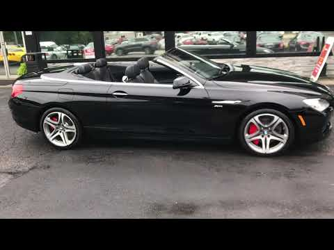 2012 BMW 650i XDrive Convertible For Sale