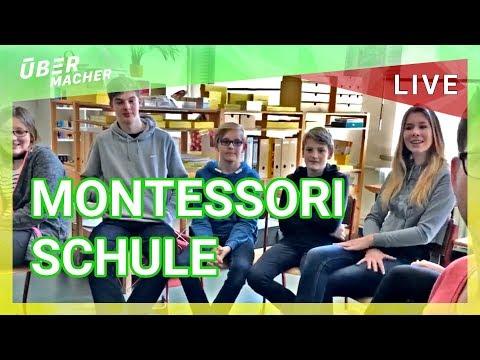 Schule Mal Anders! Montessori Schule In Hannover Besucht LIVE STREAM #ÜberMacher