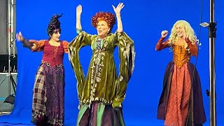 HOCUS POCUS Reunion! See Bette Midler, Sarah Jessica Parker and Kathy Najimy Back in Costume
