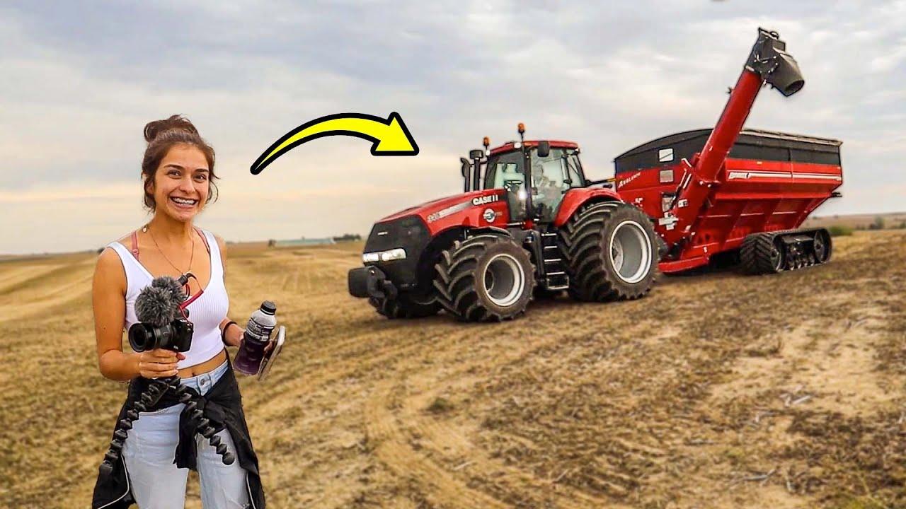 Meet Our New Grain Cart Driver!