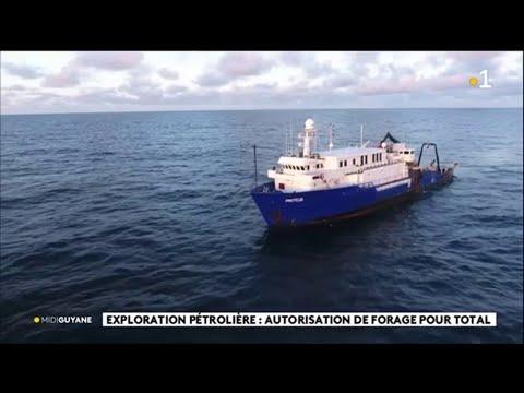 Exploration pétrolière : autorisation de forage pour Total