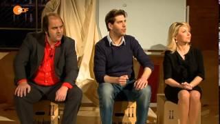 Die Anstalt vom 04.02.2014 mit Max, Claus, Simone, Nico und Matthias