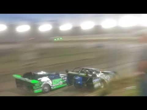 Jeremy kingsley Jake miller peoria speedway 7/28/18