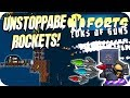 Forts Multiplayer 4v4 Gameplay Impossible Unstoppable Rockets
