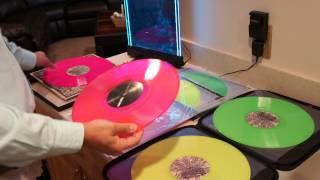 CVTV Serato Control Record Vinyl Neon vs Hifana Comparison