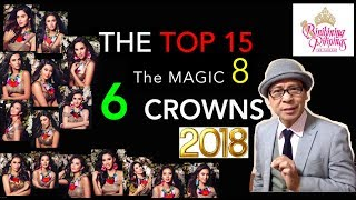 TOP 15!! 6 CROWNS!! Bb.Pilipinas 2018 Robato🇯🇵Fearless Forecast.