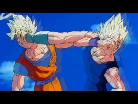 DBZ [AMV] - Goku vs Majin Vegeta - You're Going Down