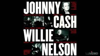 Johnny Cash & Willie Nelson  -  Family Bible