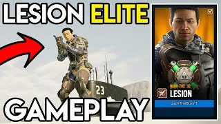 LESION ELITE SKIN IS HERE! Gameplay, MVP Animation, & MORE! - Rainbow Six Siege