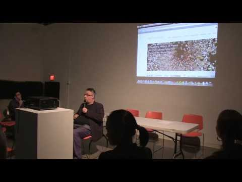 Lecture by Lev Manovich and panel discussion at Amelie A. Wallace Gallery