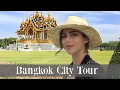 1 Day Bangkok City Tour | Floating Market | Grand Palace | Train Markert | Wat Pho  | Maria Maria