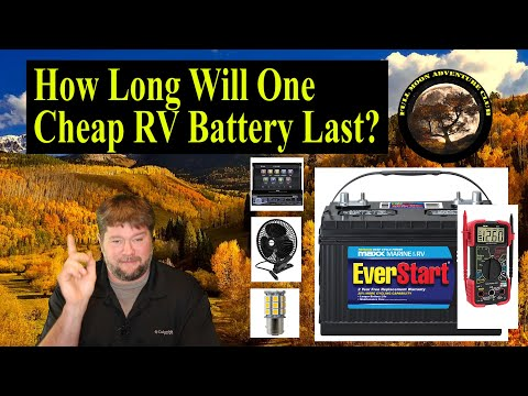 How Long Will One Cheap RV Battery Last