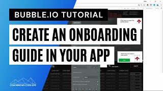 كيفية إنشاء مستخدم على الصعود الخبرة في فقاعة الخاص بك التطبيق