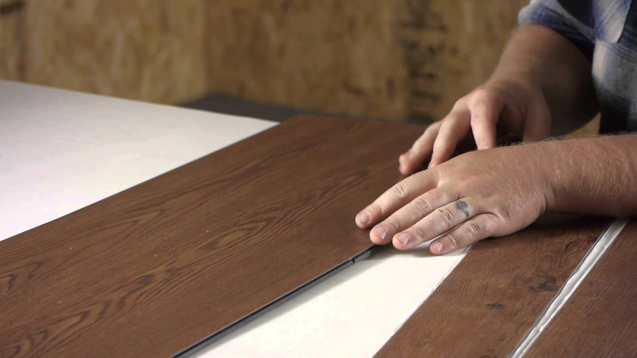 glue down vs. peel & stick vinyl plank : flooring help - youtube