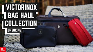 Unpacking the Victorinox 2 Way Carry Bag, Travel Organiser & Lexicon Parcel!