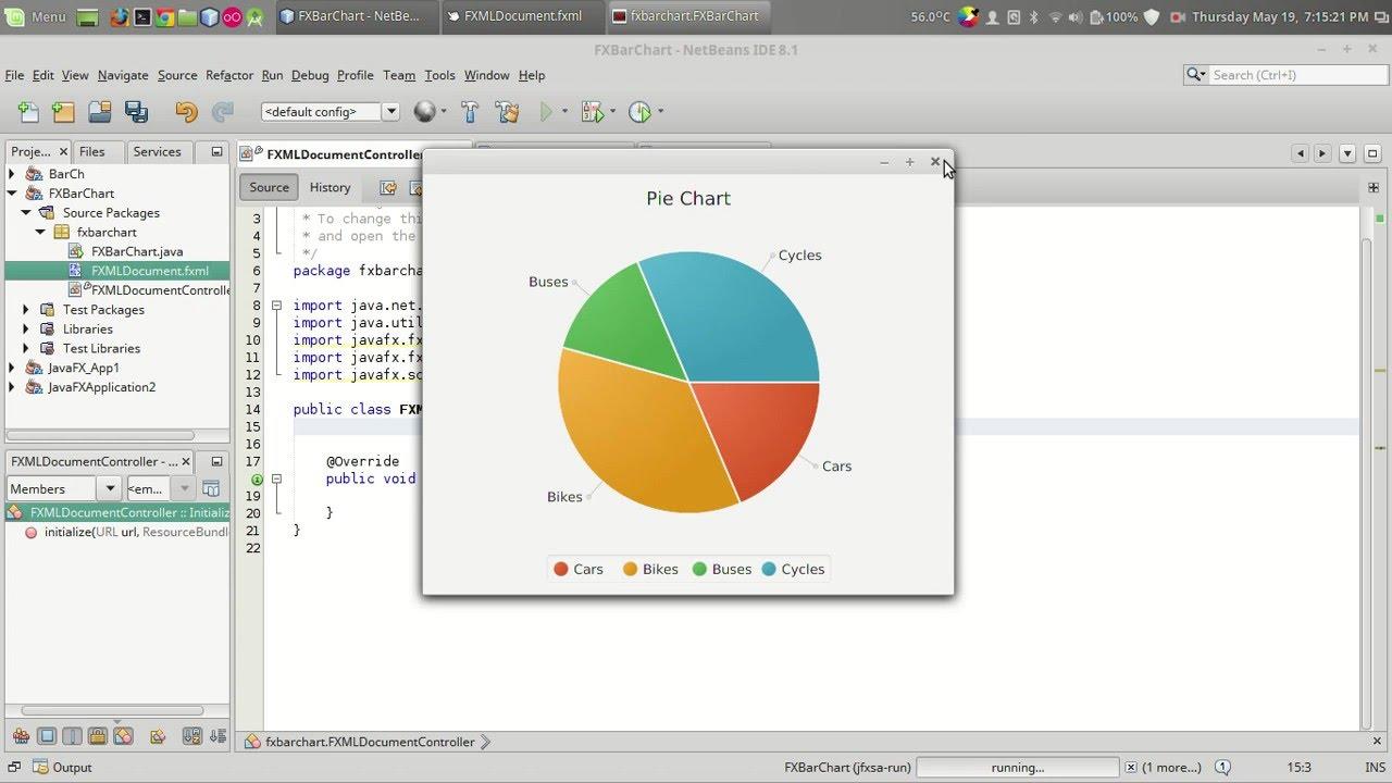 Javafx tutorial pie chart youtube javafx tutorial pie chart nvjuhfo Image collections