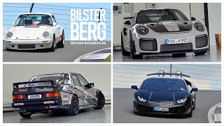 Lamborghini Huracan - Mercedes-Benz - Porsche - BILSTER BERG (Super)Cars and Faces, Sequenz 02-2021.