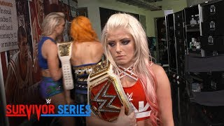 raw women s champion alexa bliss is despondent after her loss exclusive nov 19 2017
