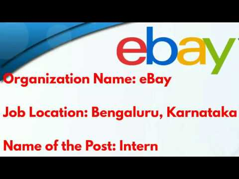 eBay Recruitment for a role of Service Desk Analyst for B.E/B.Tech/Any degree graduates at Bangalore