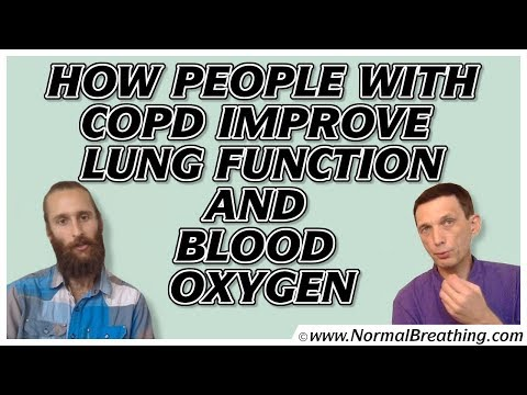 How people with COPD improve lung function and blood oxygen: Interview with Dr. Artour