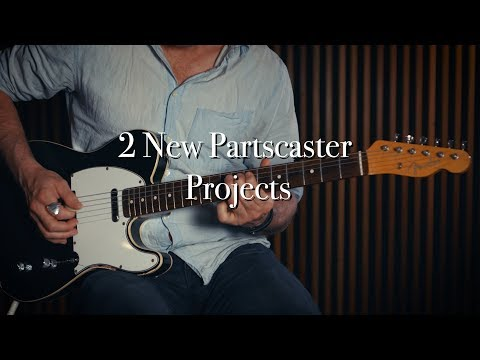 2 New Partscaster Projects / CIJ Custom Tele and a FujiGen S