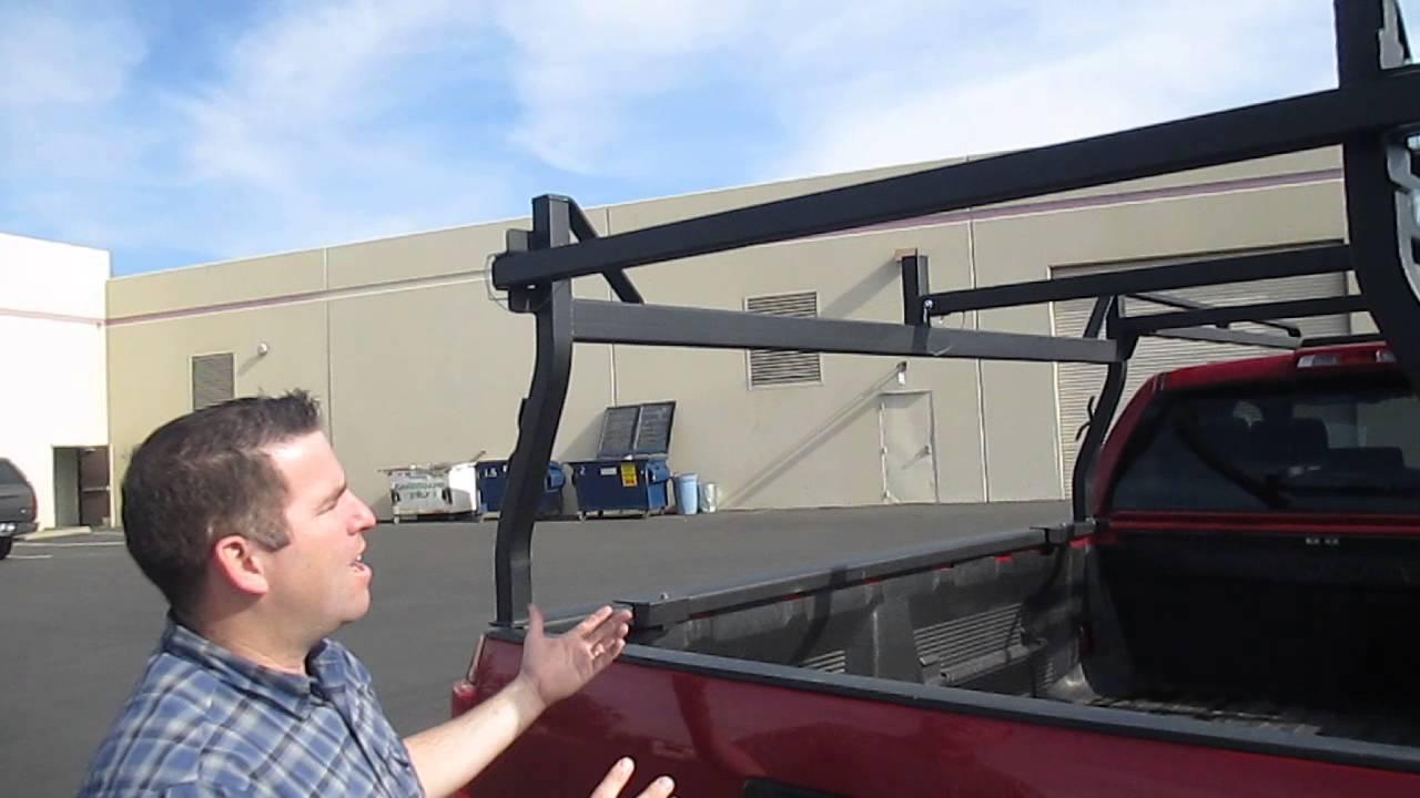 Truck Pipe Rack >> Rack-it Truck Rack's New HD Square Tube Rack For Pickups ...