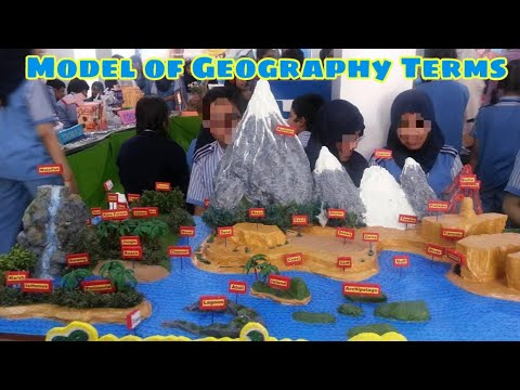 Model of Geography terms with names