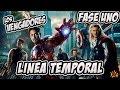 Conoce La Historia Completa The Avengers Fase 1 Linea De ...