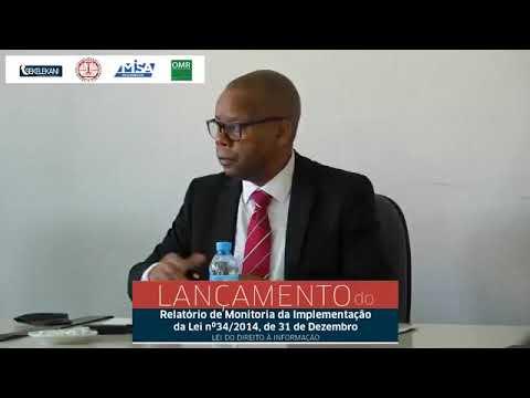 Lançamento do Relatório de monitoria da implementação da Lei do Direito à Informação
