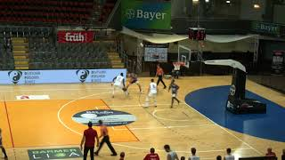 Daniel Zdravevski #14 blue   Leverkusen vs. Hagen - ProA 20-21