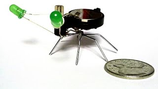 How to make a mini bug robot?