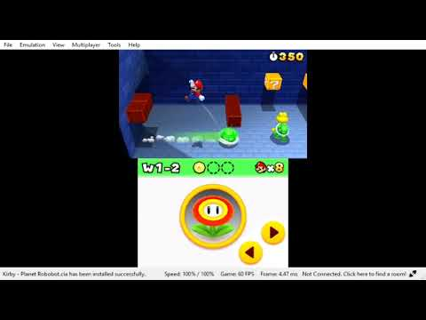 Super Mario 3D Test Run Land