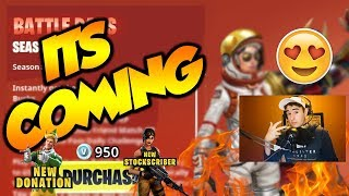 NEW UPDATE COMING SOON SEASON 3 BATTLE PASS NEW SKINS & MORE!!
