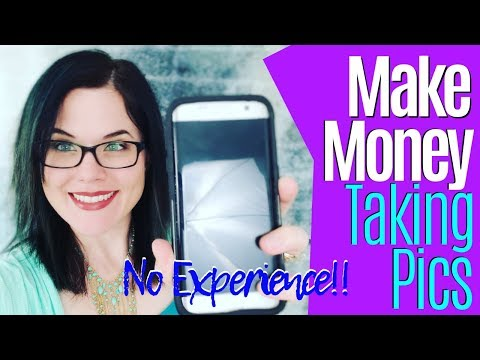 Make Money Online Taking Simple Pictures With Your Phone [No Experience]